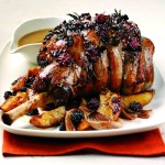 Autumn Lamb with Blackberries and Honey