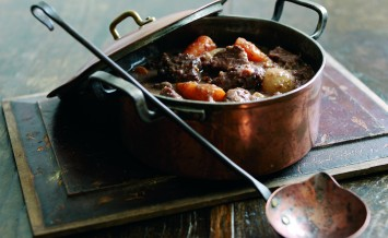 Autumnal Beef and Chestnut Casserole