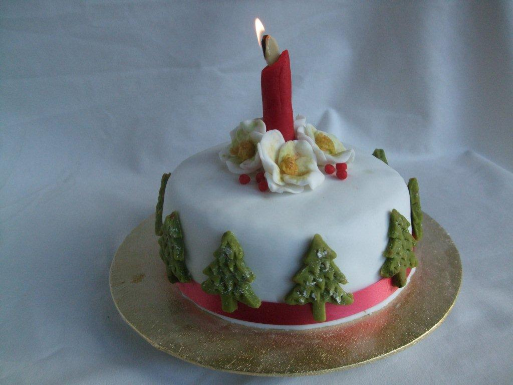 Christmas Cake Images Decorations : Christmas cake decorating tips - Silverhairs