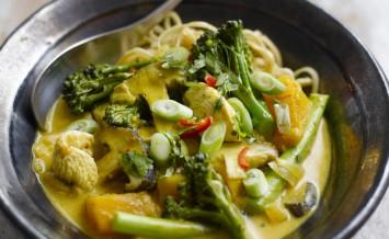 Levi Roots' Tenderstem, Cashew And Tofu Stir Fry Recipes — Dishmaps