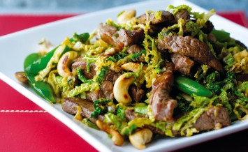 Five Spice Beef with vegetables