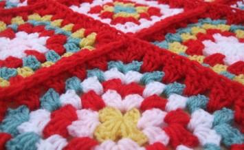 bigstock-Red-Granny-Squares-7934336