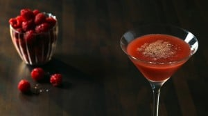 Raspberry & Chocolate Expresso Martini