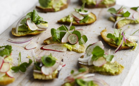 Celebration canapés for the festive season