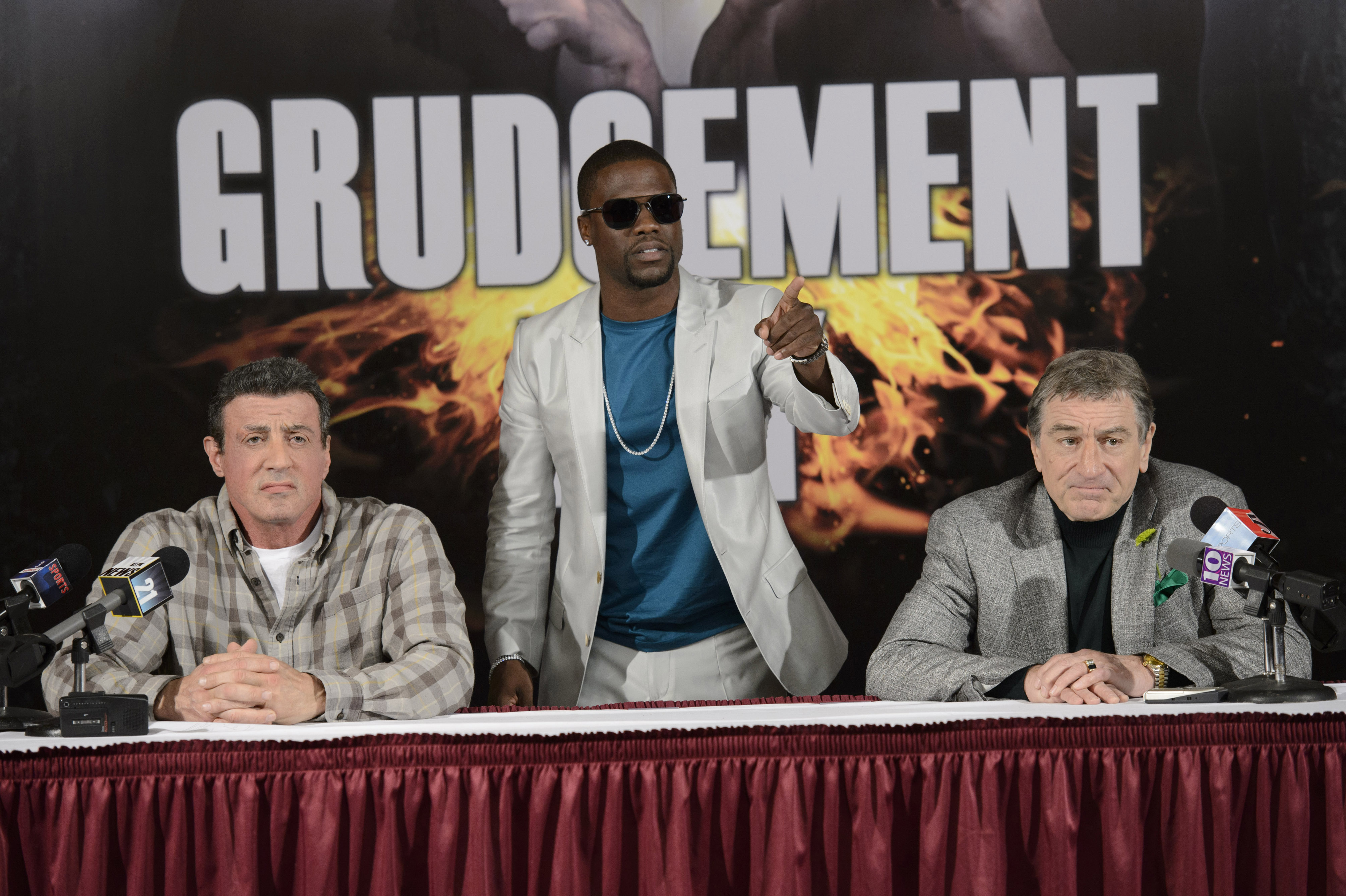The Grudge Match - Kevin Hart, Robert De Niro and Sylvester Stallone