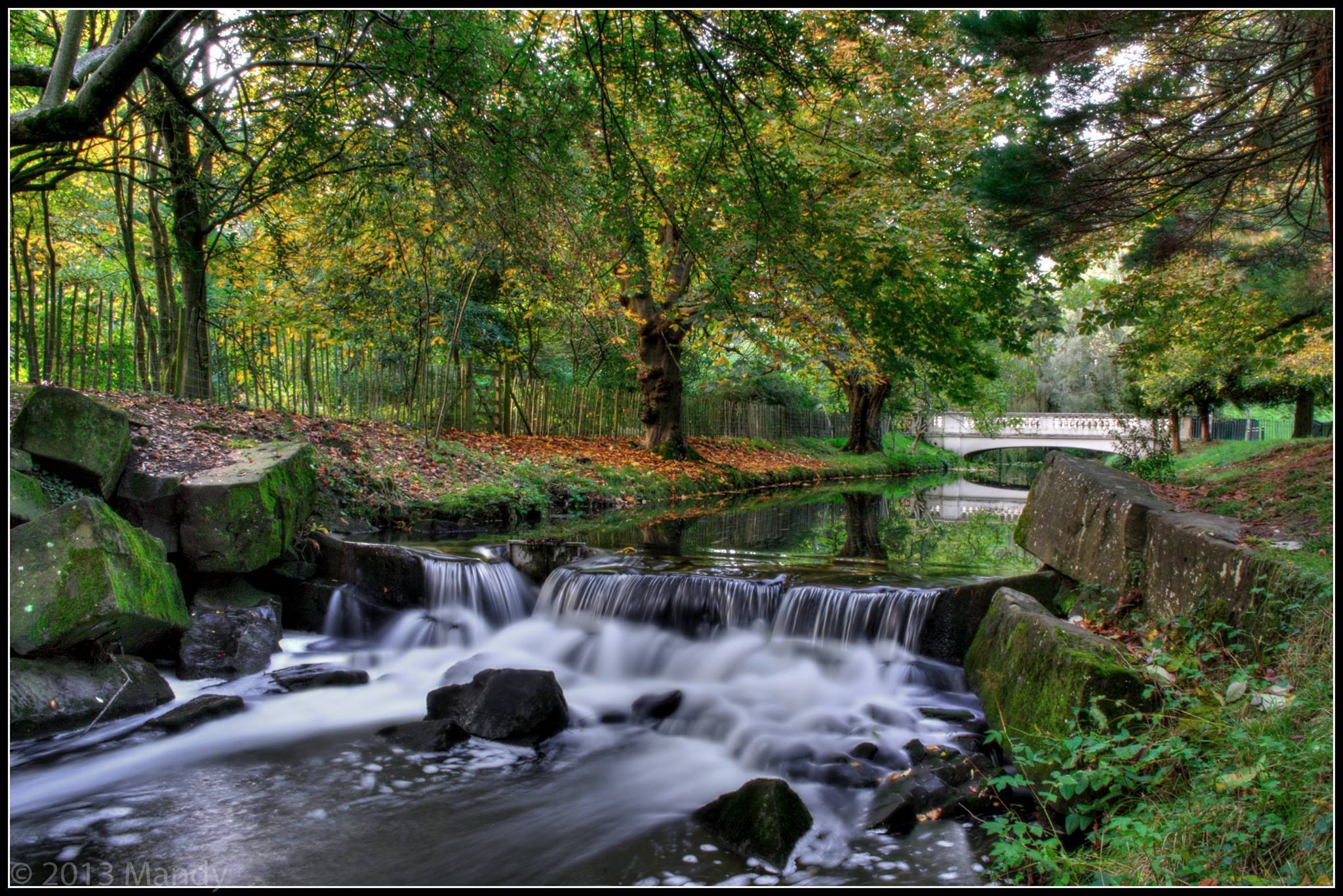 Roath Park Waterfall