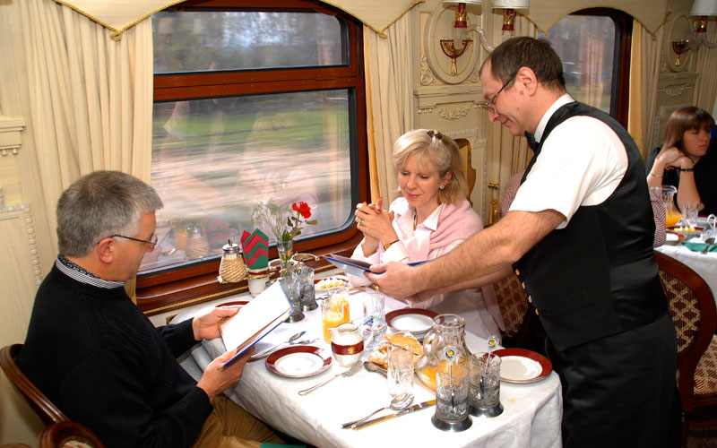 Trans Siberian Railway meal time