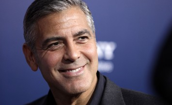"LOS ANGELES - SEP 27:  George Clooney arrives to the ""The Ides o"