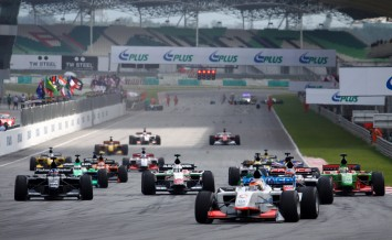 Sepang, MALAYSIA - 23 November: Start of the race at the World A