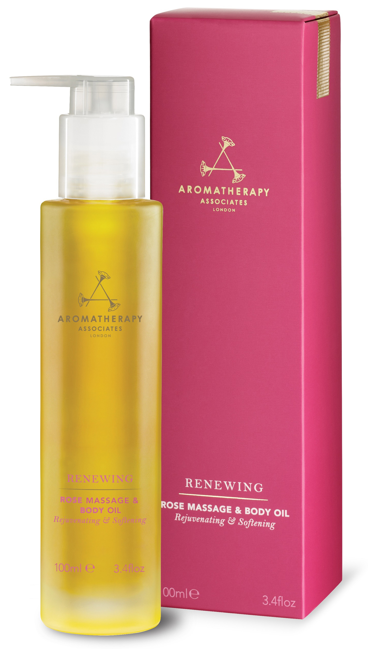 Aromatherapy Associates Renewing Rose Massage & Body Oil, £41