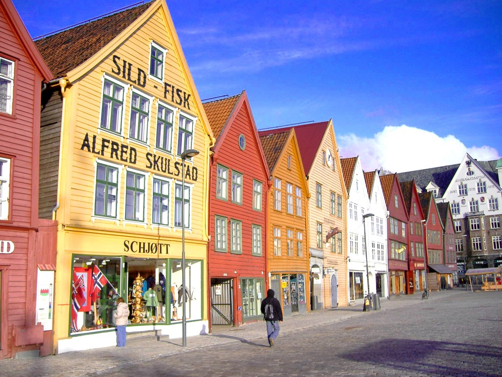 Bergen,The Hanseatic Wharf