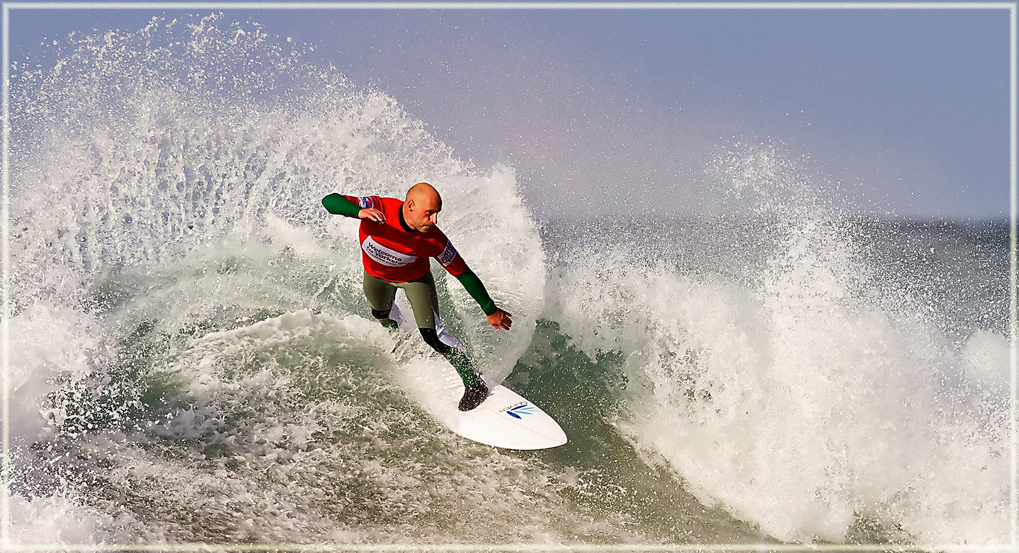 UKPSA surf finals at Fistral Beach Newquay by John Downes