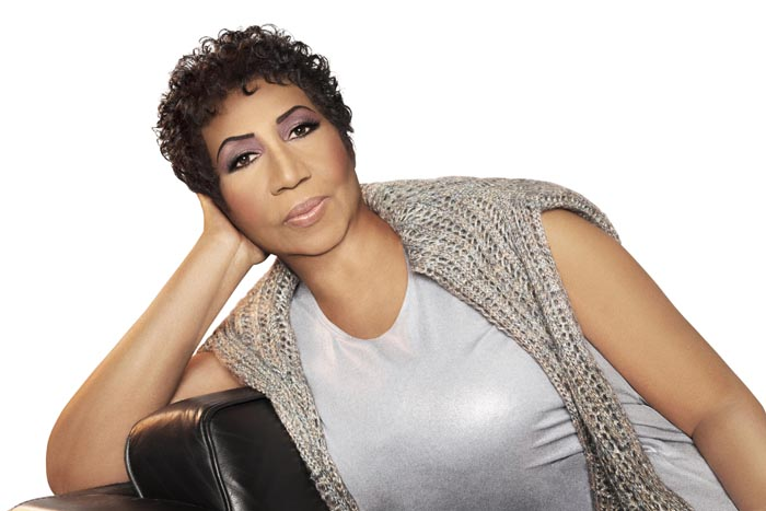 Aretha Franklin photographed by Matthew Jordan Smith