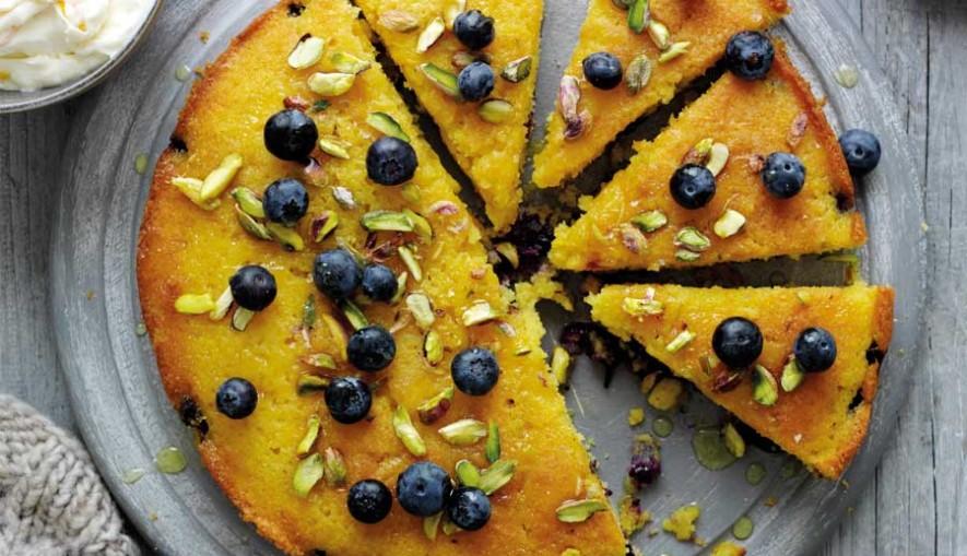 Blueberry,-orange-and-polenta-cake-1