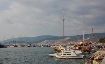 Boats In Akbuk, Turkey