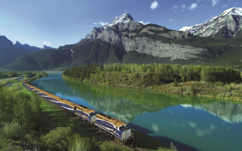 Rocky Mountaineer Train, Alberta