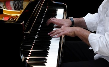 Pianist Plays Jazz Music
