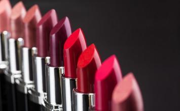 Lipsticks In A Row
