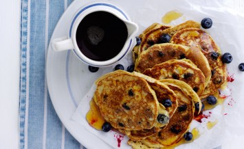 Gluten free American-style pancakes