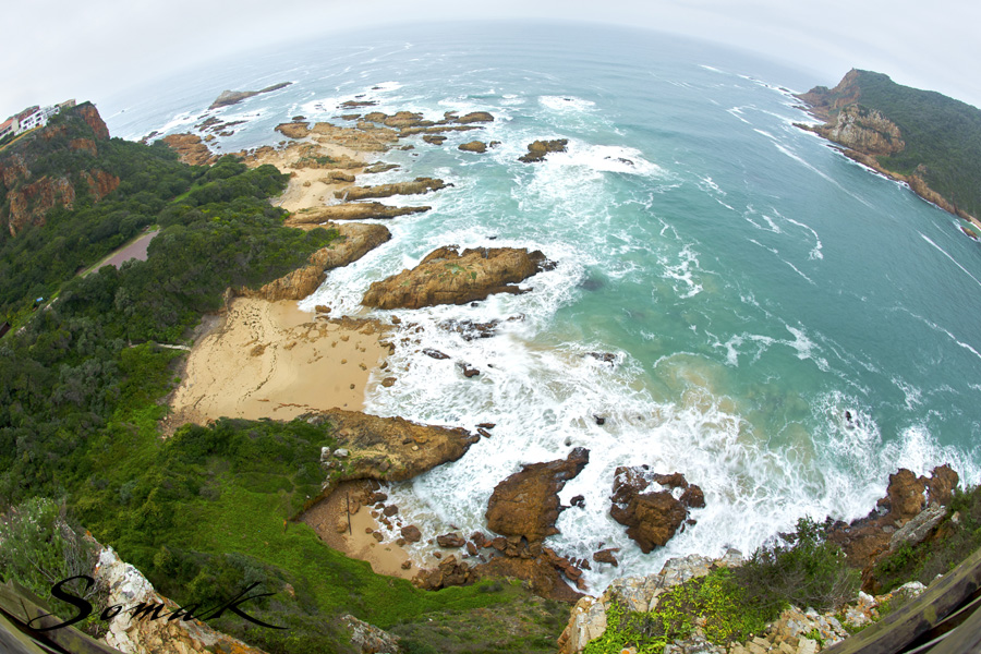 View across the Knysna Heads