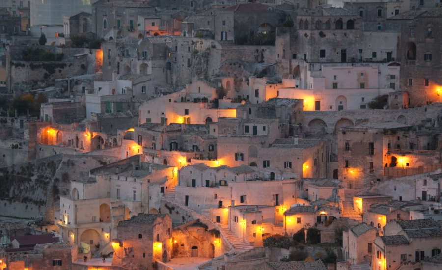 The atmospheric cave-town of Matera