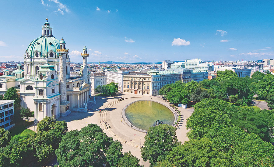 Brimming with culture, art and majestic architecture, the romantic city of Vienna is an absolute must for enthusiasts of classical music and architecture.