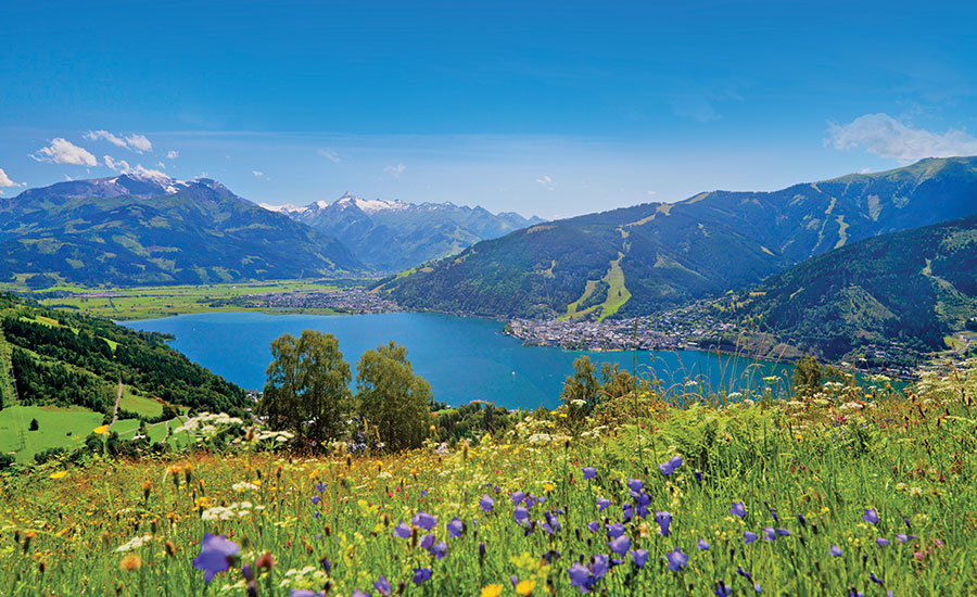 Zell am See – one of the most scenic and well-loved lakeside resorts in Austria.