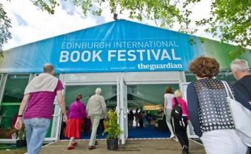 Edinburgh International Book Festival entrance