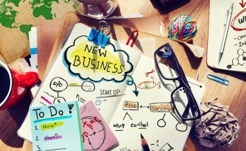 New Business Startup Plan Strategy Aspiration Concept