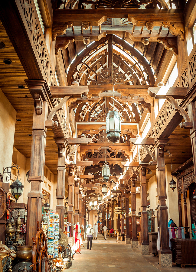 The Madinat Souk at Madinat Jumeirah Hotel