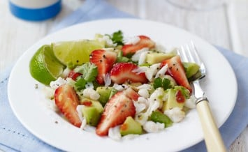 Sweet Eve Strawberry, Crab and Avocado Salad