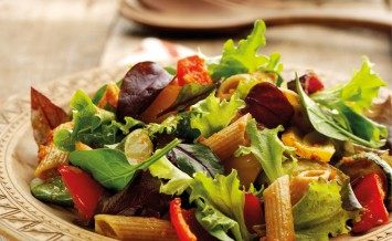 Roasted Meditarranean Vegetable Pasta Salad