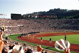 1960 Summer Olympics take place in Rome.
