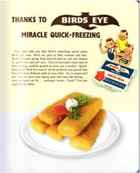 26 September – Clarence Birdseye begins selling frozen fish fingers in Britain for 1 shilling  8 pence, a product that still remains popular with families to this day.