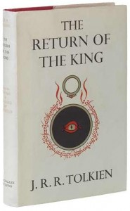 J. R. R. Tolkien publishes The Return of the King, third and final part of The Lord of the Rings trilogy.