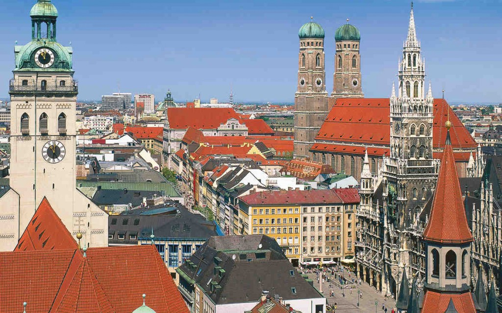 Munich Town Centre - Muenich Tourismus ©