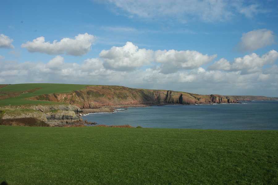 Pembrokeshire Coastal Path image via Flickr user Prashant Ram