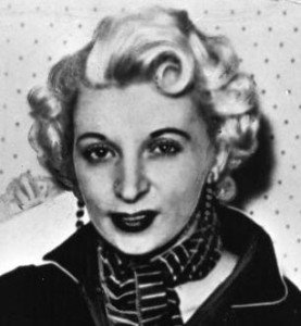 13 July – Ruth Ellis becomes the last woman to be hanged in Britain. Executed for the wilful murder of her lover, David Blakely, the case caused widespread controversy.