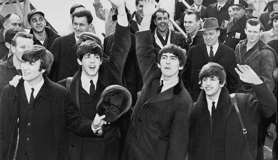 Beatlemania takes hold around the world as The Beatles begin touring - between 1963 and 1970 the band would enjoy seventeen British number-one singles.
