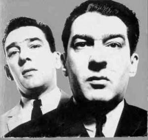 7 January – Notorious gangsters and identical twins Ronnie and Reggie Kray, aged 31, are arrested on suspicion of running a protection racket in London.