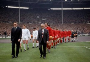 1 May – Liverpool FC win the FA Cup, beating Leeds United 2-1 at Wembley Stadium. Players Roger Hunt and Ian St John score for Liverpool to solidify the historic win, a first for the club.