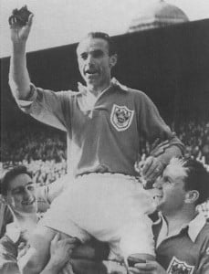 6 February - Sir Stanley Matthews plays his final First Division game, at the record age of 50 years and 5 days.