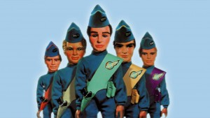 Children's TV programme Thunderbirds debuts for the first time with episode Trapped in the Sky.