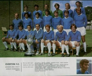 1 April -  Everton wins the Football League First Division title