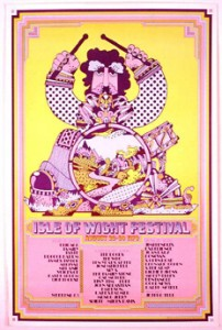 26 – 31 August - The third annual Isle of Wright Festival takes place, attracting crowds of over 500,000 – a larger audience than Woodstock. Jimmy Hendrix, The Who, The Doors, Chicago, Joni Mitchell and Sly & the Family Stone are among the headline acts.