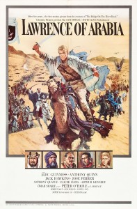 Lawrence of Arabia wins Best Picture at the 35th Academy Awards.