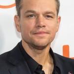 8 October – Matt Damon