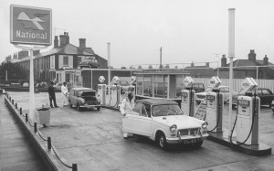 The price of things: In 1963 a gallon of petrol cost 5 shillings.