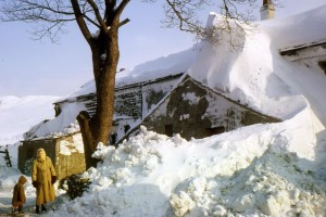 Winter 1963 – Britain has the worst winter in nearly 20 years. Low temperatures mean snow is on the ground until April in some areas.