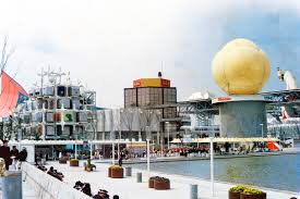 The Expo 70 World's Fair Opens in Osaka, Japan. A moon rock goes on display in the United States' pavilion from the Apollo 12 moon landing in 1969. The first-ever IMAX film also premiered during the expo, along with early demonstrations of mobile phones.